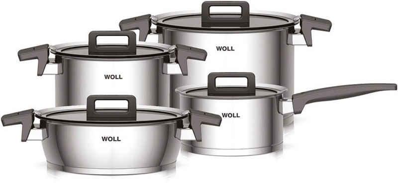 WOLL Topf-Set »Concept«, Edelstahl 18/10, (Set, 8-tlg), für Induktion