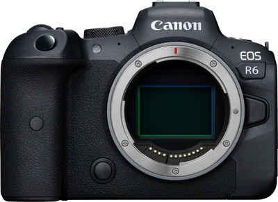 Canon »EOS R6 Gehäuse« Systemkamera (20,1 MP, Bluetooth, WLAN (WiFi)