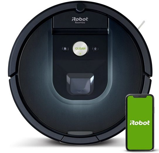iRobot Saugroboter IROBOT Roomba 981, Rund, Nachtblau, Staubsaugerrob