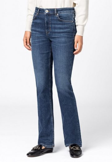 HALLHUBER Regular-fit-Jeans »aus Candiani Denim«