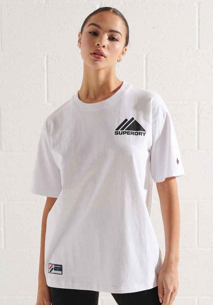 Superdry T-Shirt »Mountain Sport Mono Mini« mit sportlichen Logodesign