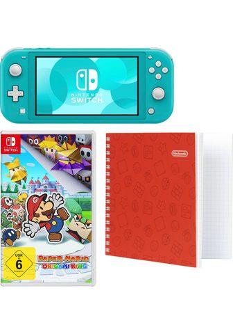 Nintendo Switch Lite ir Paper Mario ir Notizblock