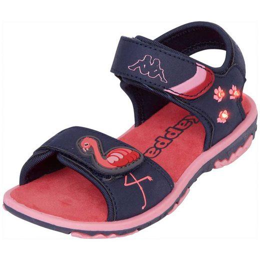 Kappa »FLINGO KIDS« Sandale mit cooler Blinkfunktion