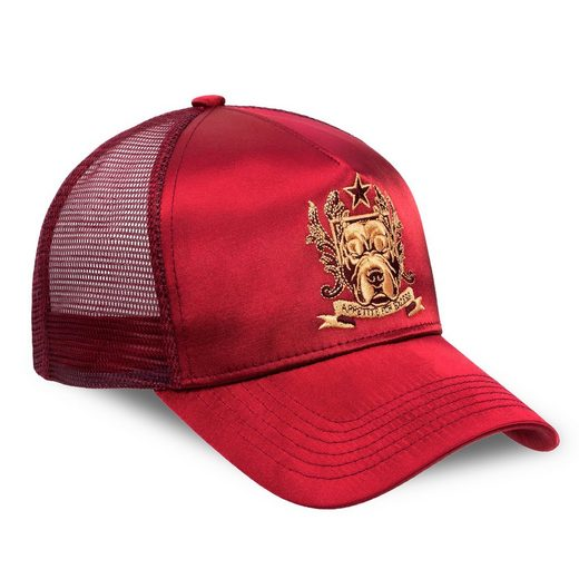 Chiccheria Brand Baseball Cap »BULLDOG« Designed in LA, glänzend