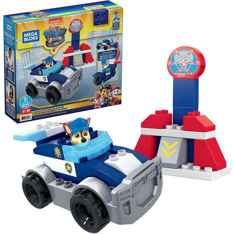 Mattel® Spielbausteine »Mega Bloks PAW Patrol Chases Polizeifahrzeug«