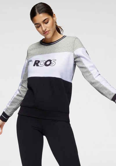 KangaROOS Sweatshirt im Colorblocking mit Front-Print
