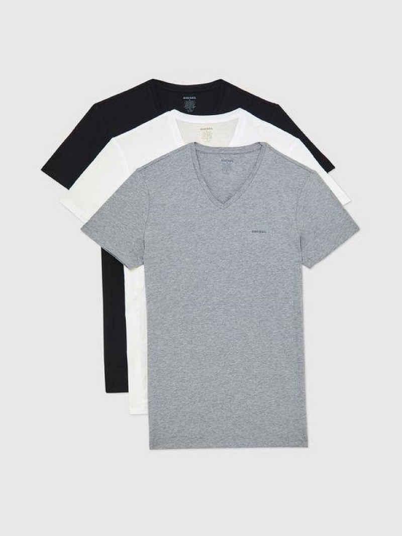 Diesel T-Shirt »Jake V-Neck« (3er-Pack)