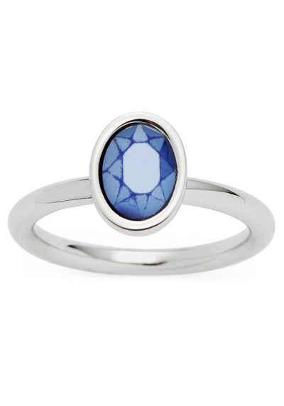 LEONARDO Fingerring »018991, 018992, 018993, Ring Annina«, mit Glasstein