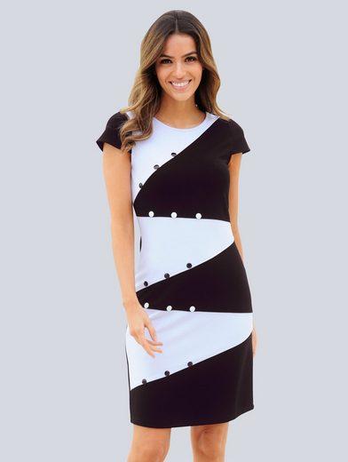 Alba Moda Strandkleid mit Ziernieten