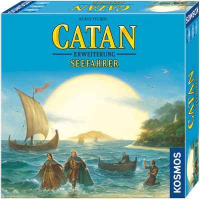 Kosmos Spiel, Erweiterungsspiel »Catan - Seefahrer, 3-4 Spieler«, Made in Germany