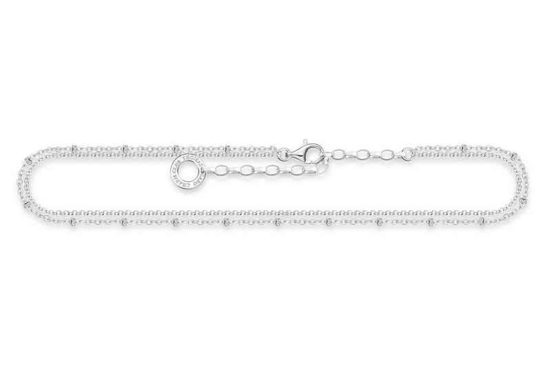 THOMAS SABO Fußkette »Silber Doppelreihig«