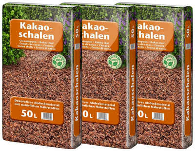Floragard Kakaoschalen, 150 l, zur Abdeckung, 3x50 Liter