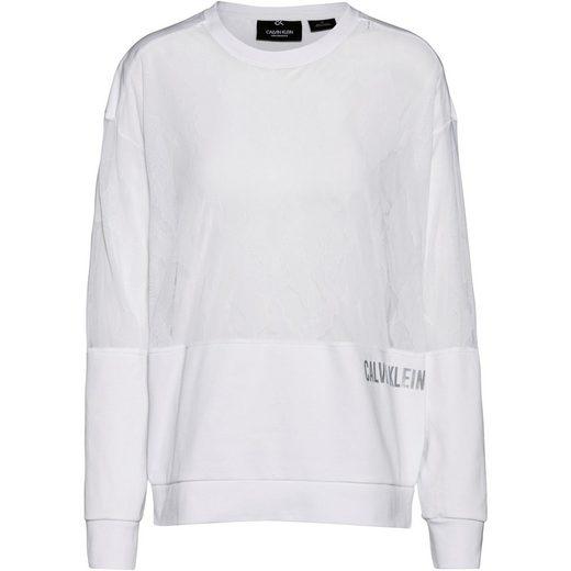 Calvin Klein Performance Sweatshirt »Cooling X Lace«