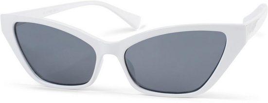 styleBREAKER Sonnenbrille »Schmale Retro Cateye Sonnenbrille« Getönt