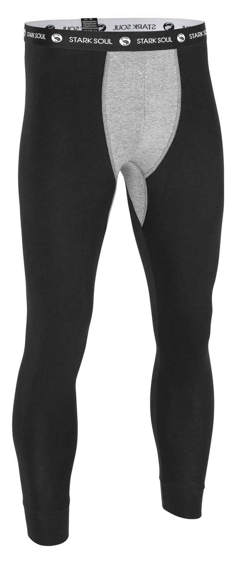 Stark Soul® Lange Unterhose in angenehmer Baumwoll-Jerseyqualität