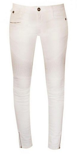 Zhrill Slim-fit-Jeans »Mia Biker« Zhrill Damen Jeanshose Röhrenjeans 5 Pocket Vintage Skinny Fit Mia Biker
