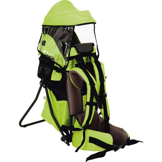 Fillikid Babytrage »Rückentrage Explorer, grün«