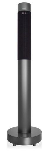 Blaupunkt SOUNDTUBE 1000 Lautsprechersystem (Bluetooth, Blaupunkt Lautsprechersystem mit NFC, Radio, AUX-IN, LED-Anzeige, Aluminiumgehäuse)