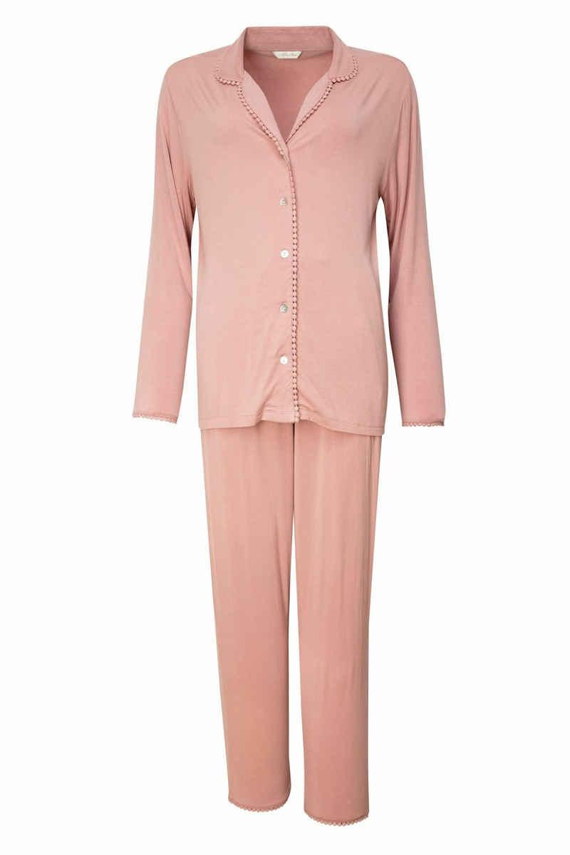 Nora Rose Pyjama »Audrey Uni« (2 tlg)