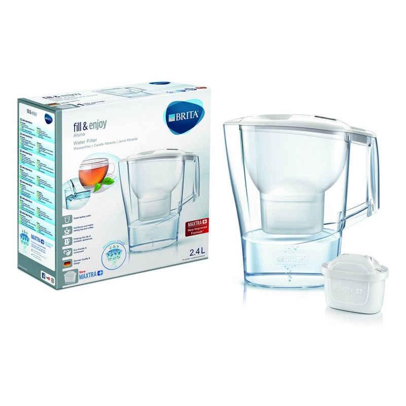 BRITA Wasseraufbereiter »Tischwasserfilter Aluna Cool«, 2.4 l, Wasserfilter