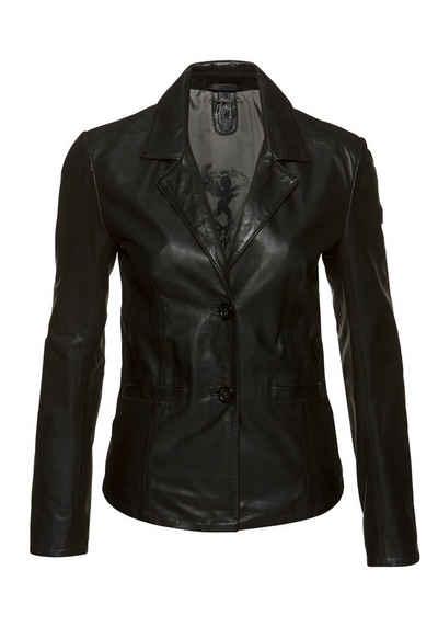 Gipsy Lederjacke »Mya« im modischem Blazer-Stil mit Reverskragen