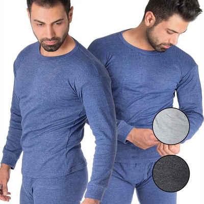 Black Snake Thermounterhemd »cushy« (2 Stück), 2er-Pack Unterhemden mit Innenfleece