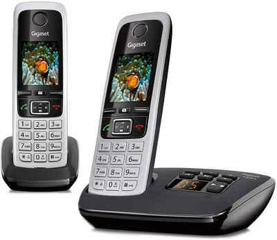 Gigaset »GIGASET C 430 A Duo Schnurloses DECT Telefon« DECT-Telefon (Mobilteile: 2)
