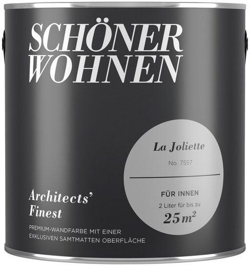 SCHÖNER WOHNEN-Kollektion Wand- und Deckenfarbe »Architects' Finest La Joliette«, matt, 2 l