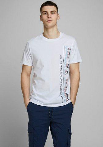 Jack & Jones Jack & Jones Marškinėliai »STRUCTURE T...