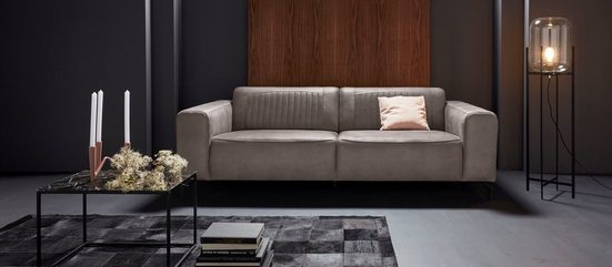 Places of Style 3-Sitzer »Gerogia«, mit schöner Nahtverarbeitung im Rücken