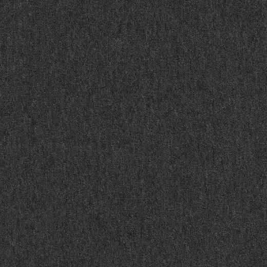 Teppichfliese »Neapel«, quadratisch, Höhe 3 mm, Anthrazit, selbstliegend