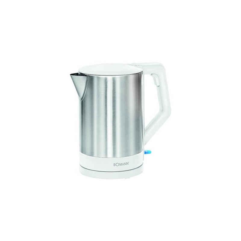BOMANN Wasserkocher WKS 3002 CB 1,5L silber/weiß