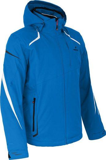 Bergson Skijacke »VALLEY« Herren Skijacke, wattiert, 12000 mm Wassersäule, Kurzgrößen, blau