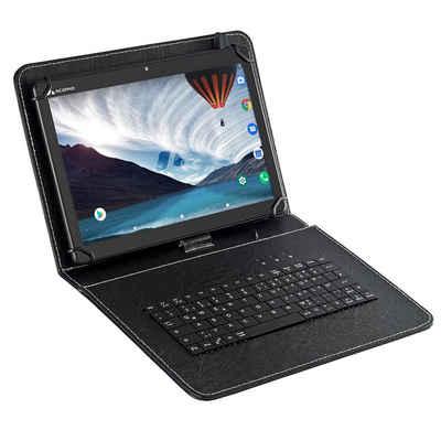 """Acepad A140T Tablet (10.1"""", 64 GB, Android, 4G (LTE), 3 GB Ram, Octa-Core, 10"""", Wi-Fi, FHD 1920x1200, mit USB-Tastaturtasche - v2021)"""