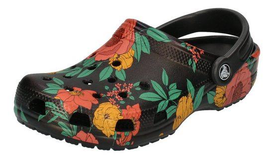 Crocs »Classic Printed Floral Clog« Clog Floral Black