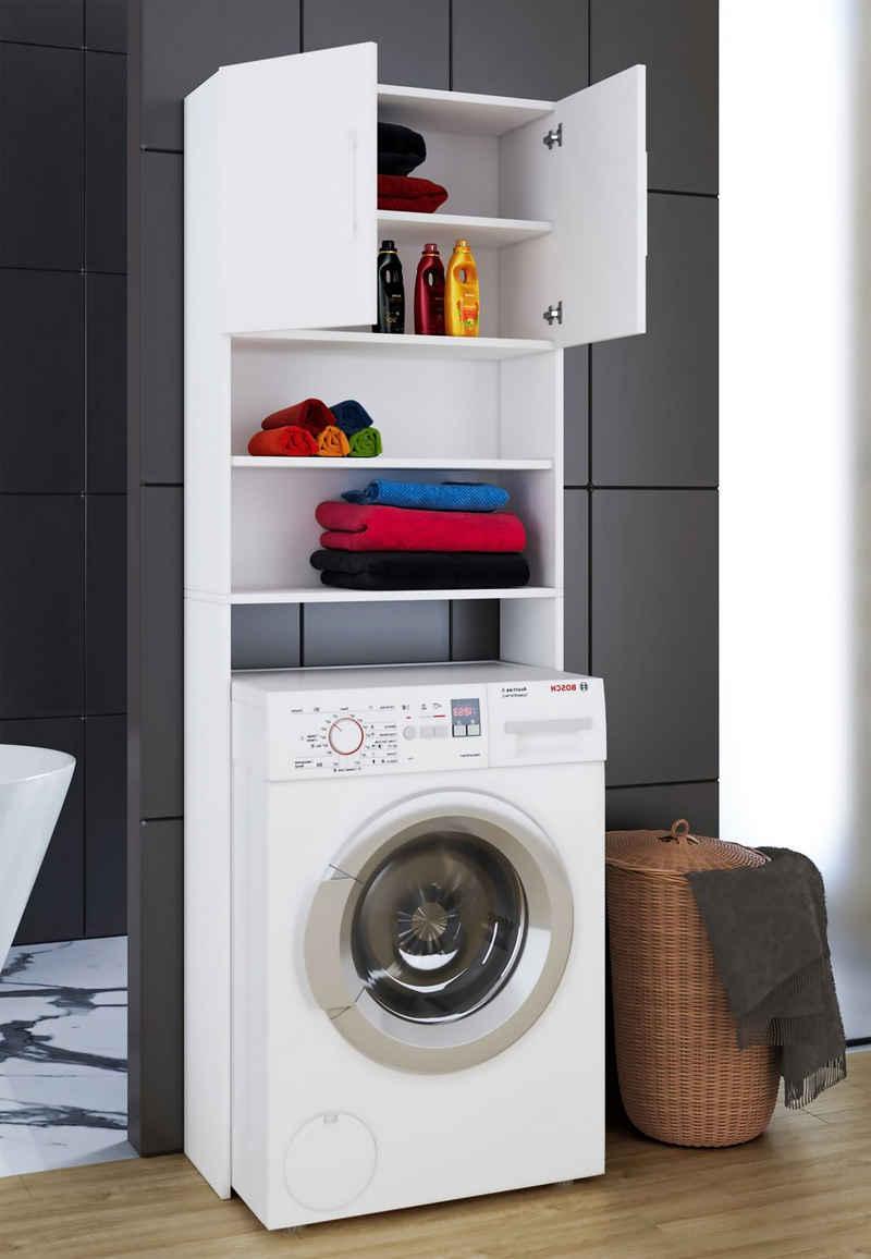 VCM Hochschrank »Waschmaschinenschrank Überbau Jutas«