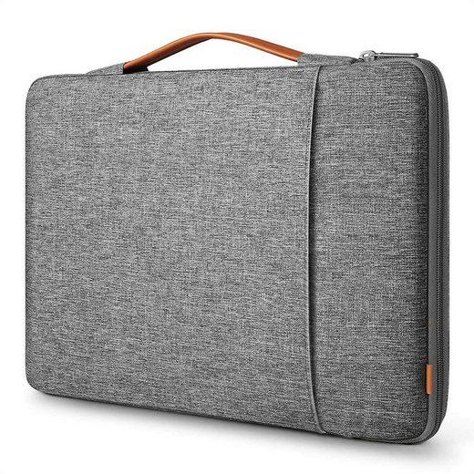 Inateck Laptoptasche »für 15-15.6 Zoll Laptops, 360° Rundumschutz, Spritzwassergeschützt, mit elastischer Griff«