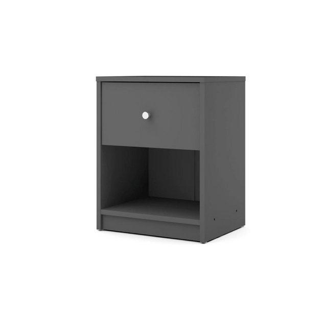 Nachttische - ebuy24 Nachttisch, Nachtkonsole »Maria Nachttisch 1 Schublade und 1 Raum grau.«  - Onlineshop OTTO
