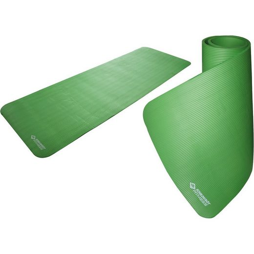 Schildkröt-Fitness Fitnessmatte »Fitnessmatte 15mm, grün«