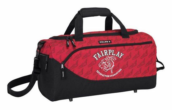 TOP! Sporttasche »Kelme - Sporttasche, 50x25x25 cm« (Reißverschluss, Jungen), Geringes-Gewicht