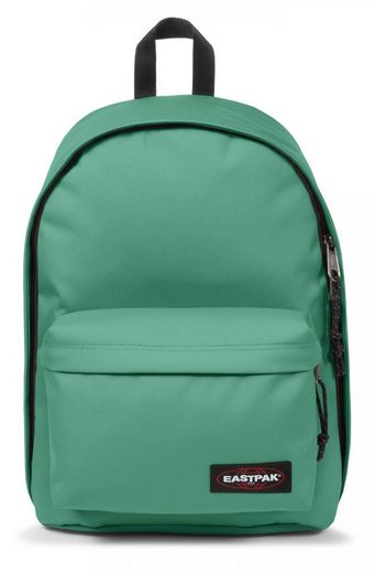 Eastpak Laptoprucksack »OUT OF OFFICE, Melted Mint«, enthält recyceltes Material (Global Recycled Standard)