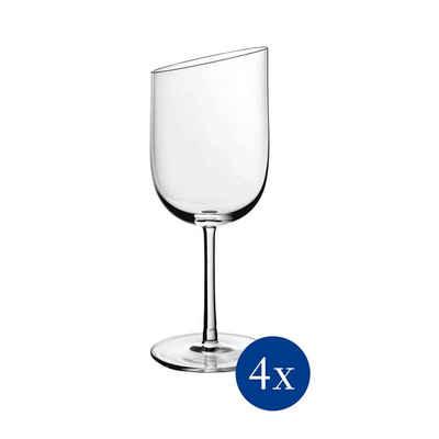 Villeroy & Boch Weißweinglas »NewMoon Weißweinkelch 4er Set«, Glas