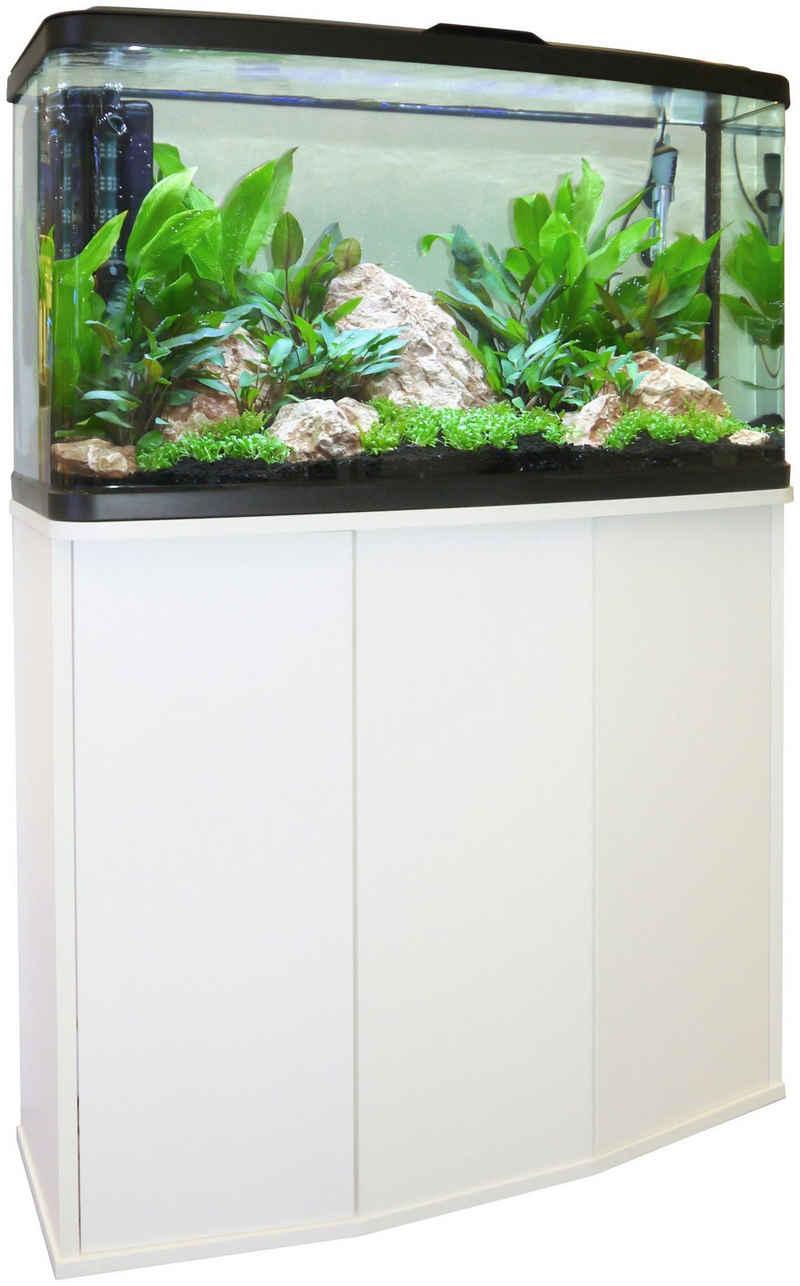FLUVAL Aquarium »VUE«, BxTxH: 77x31x125,7 cm, 87 l