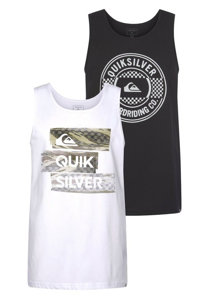 quiksilver -  Tanktop »CHILLY CAMO LAMBOK PACK« (Packung, 2er-Pack)