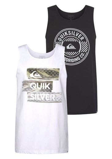 Quiksilver Tanktop »CHILLY CAMO LAMBOK PACK« (Packung, 2er-Pack)