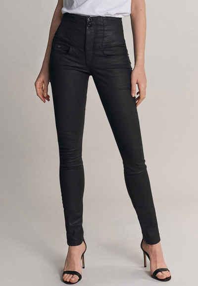 Salsa Slim-fit-Jeans »Diva« Slim Fit, mit Schlankheitseffekt, gecoatet