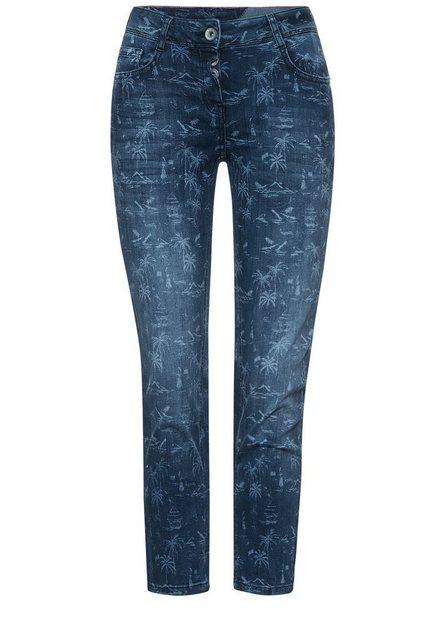 Hosen - Cecil Loose fit Jeans 5 Pockets Style › blau  - Onlineshop OTTO
