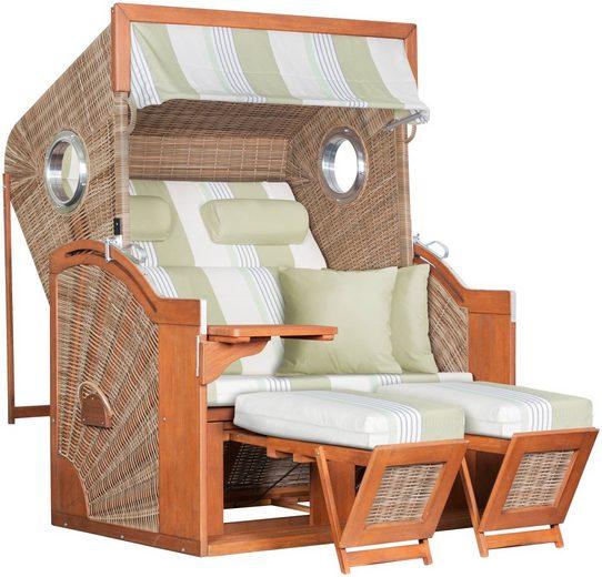 Strandkorb »deVries PURE® Seaside XL PE«, Design 432 griseum