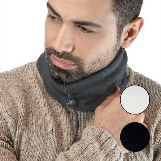 Tarjane Fleeceschal »scarf« (Spar-Set, 2-St) Unisex Schlauchschal mit Kordelzug