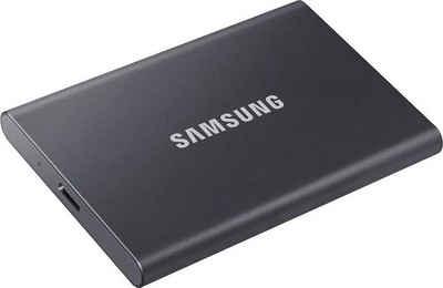 Samsung »Portable SSD T7 1 TB« externe SSD (1 TB) 1050 MB/S Lesegeschwindigkeit, 1000 MB/S Schreibgeschwindigkeit)
